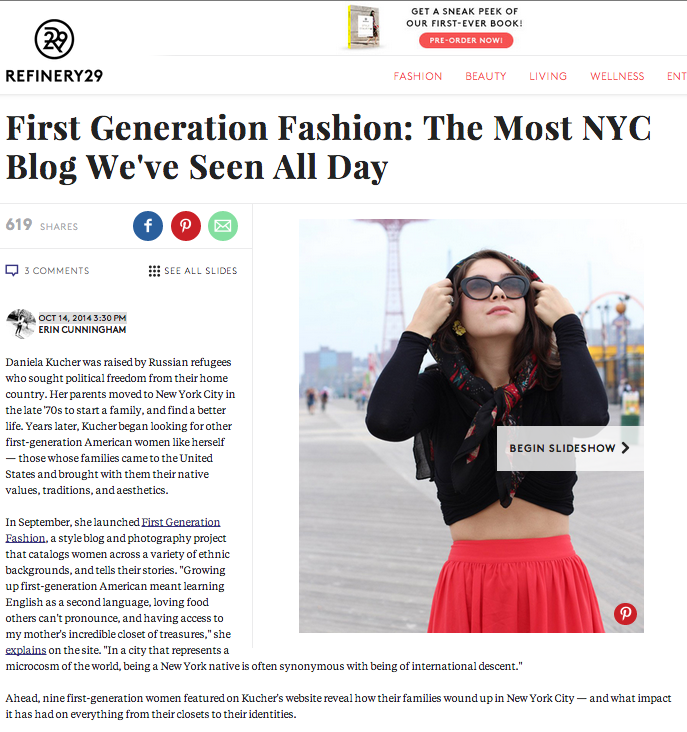 First Generation Fashion Refinery29