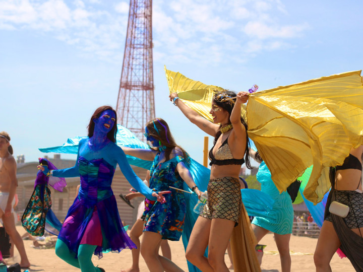 The Coney Island Mermaid Parade
