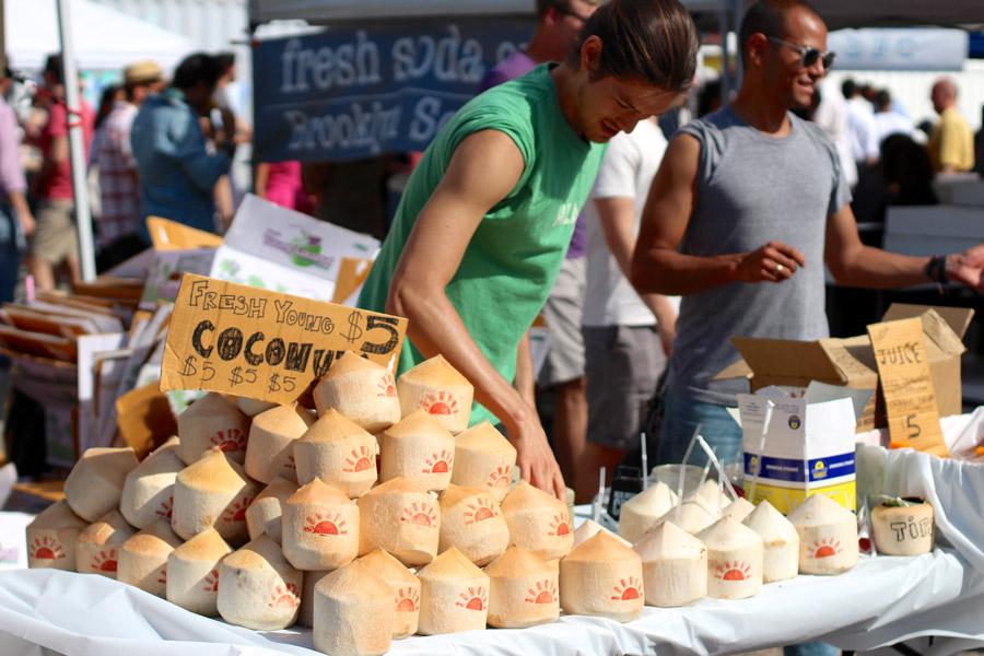 smorgasburg coconut water